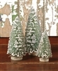 "Blue Spruce Bottle Brush Trees 7"" by Ragon House"