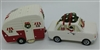 Vintage Car and Camper Salt and Pepper Shakers by Park Designs