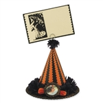 Witch Hat Card Holder by Casey Mack for Bethany Lowe