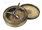 18th Century Sundial and Compass by Authentic Models