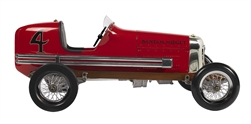 "Red Bantam Midget Racecar Model 19"" by Authentic Models"