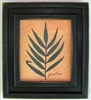 Palm Leaf Framed Print by Bonnie Wolfe