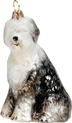 Old English Sheepdog Ornament by Joy to the World