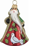 Mini Two Turtle Doves Ornament by Joy to the World
