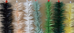 Feather tree color samples