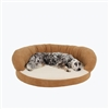Ortho Sleeper Bolster Dog Bed Medium by Carolina Pet Company
