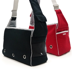 Boxy Messenger Bag Dog Carrier by Dogo Pet Fashions