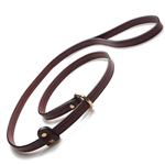 Leather Handler Training Dog Leash by Mendota