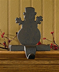 Snowman Stocking Hanger Iron by Park Designs