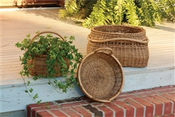 Artisan Baskets with Rattan Pole Handles by Park Designs
