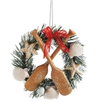 Seashore Wreath Ornament by Seasons of Cannon Falls