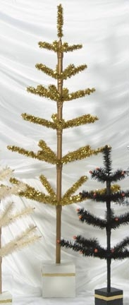 Tinsel Christmas Tree By Dennis Bauer