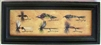 Antique Fishing Fly Lures Framed Print by Bonnie Wolfe
