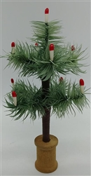 "7"" Soft Feather Tree Antique Green"