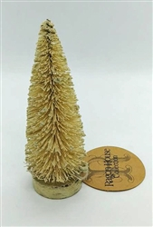 Narrow Ivory Bottle Brush Tree by Ragon House