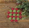 Yo Yo Holiday Candle Mat by Park Designs
