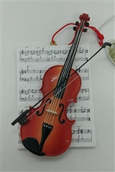 Violin with Music Ornament by Midwest of Cannon Falls