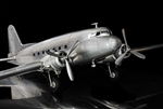 Dakota DC3  Desk Model Plane by Authentic Models