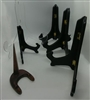 Lot of Assorted Plate Stands 6 pcs