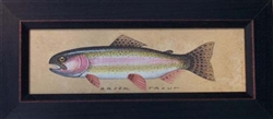 Brook Trout Framed Print by Bonnie Wolfe