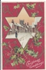 Christmas Greetings Vintage Postcard