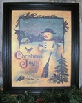 Christmas Joy Framed Print by Bonnie Wolfe