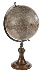 Hondius 1627 Globe with Classic Stand by Authentic Models