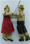 German Dancing Couple Ornament