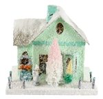 Mint Bungalow Christmas House by Cody Foster