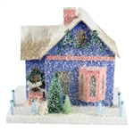 Periwinkle Cottage Christmas House by Cody Foster