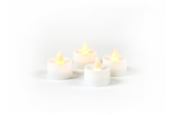 Flickering Tea Lights Battery Operated set of 4
