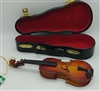 Wooden Violin Ornament by Kurt Adler