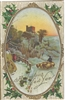 A Joyous New Year Vintage Postcard