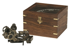 Sextant in Case by Authentic Models