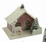 Traditional Paper House Ornament by Bethany Lowe