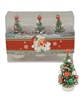 Traditional Bottlebrush trees set of 3 by Bethany Lowe
