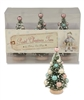 Pastel Bottlebrush trees set of 3 by Bethany Lowe