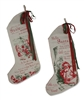 All I Want for Christmas Stockings set of 2 by Bethany Lowe