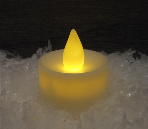 Individual Flickering LED Tea Light Battery Operated