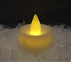 Single Flickering LED Timer Tea Lights Battery Operated