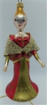 Spanish Lady with Lace Shaw - Italian - Laved