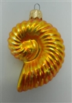 Radko - Tiny Nautilus - 94-100-0 - Gold