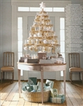 "Martha Stewart 52"" Snow Feather Tree by Dennis Bauer"