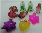 Old World Christmas Glass Light Covers Set of 9