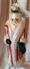 Radko Petite Candy Stripe Russian Santa Ornament