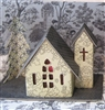 Putz Village Kit 4 churches