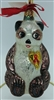 Radko - A Winter Bear's Heart - 96-SP-15 - Panda - Aids Charity