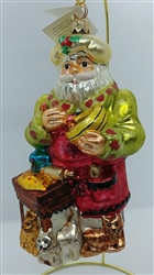 1998 Radko - Kitty Cake Bake 98-375-0 - Santa Baking