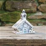 Little Country Christmas Church by Ragon House