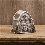 Small Grey Cardboard Barn by Ragon House